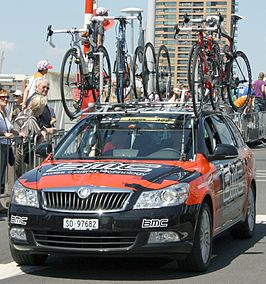 Ploegauto BMC Racing Team 2010