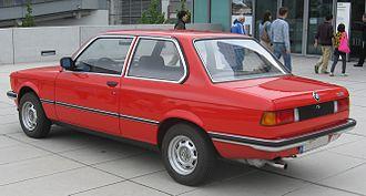 BMW 3 Series (E21) - BMW 316