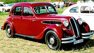 BMW 326 - Image: BMW 326 limousine 1938 as before but slightly cropped