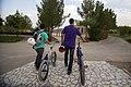 BMX Rider In Iran- Qom city- Alavi Park 08.jpg
