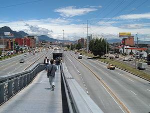 TransMilenio - Calle 100 station