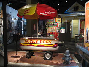 "A Confederacy of Dunces - A ""Lucky Dogs"" cart from the era of the novel"