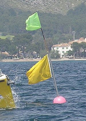 Buoy for sailing races