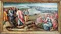 Bacchiacca, battesimo di cristo, predella, 03 predica del battista.jpg