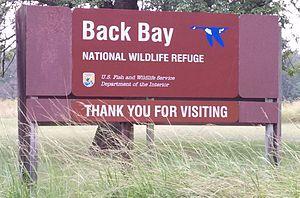 Back Bay National Wildlife Refuge - Image: Back Bay NWR Headquarters