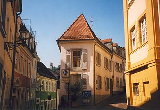Baden-Baden - Image: Baden Baden Altstadt