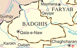 Badghis province detail map.png