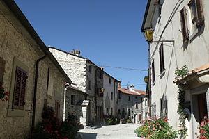 Badia Tedalda - Via Castello in Badia Tedalda Alta