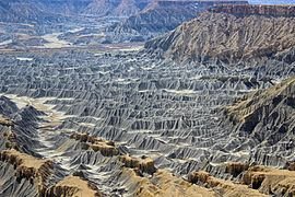 Badlands at the Blue Gate, Utah