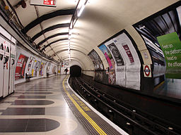 Bakerloo line - Waterloo