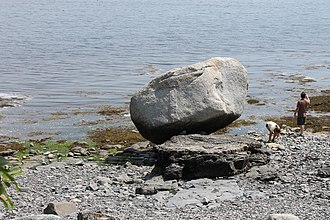 Bar Harbor, Maine - Balance Rock