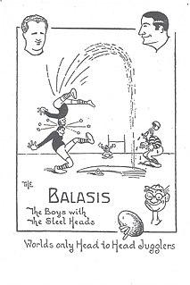Balasis family acrobatic act