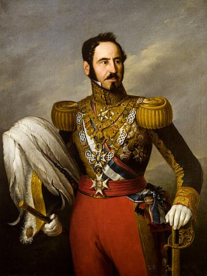 Baldomero Espartero, Prince of Vergara - Portrait by Antonio María Esquivel (1841)