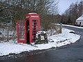 Balquhidder Station Telephone Kiosk - geograph.org.uk - 677790.jpg