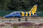 Baltic Bees Aero L-39 (YL-KSM) at Kleine Brogel Air Base (1).jpg