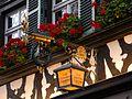 Bamberg - Altstadtlokal, Schild Schlenkerla.JPG