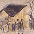 Ban Dainagon Ekotoba - people at house B.jpg