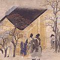 Ban Dainagon Ekotoba - people at house B.jpg