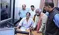 Bandaru Dattatreya visiting after launched the 'Kahin Bhi-Kabhi Bhi' medical facilities for the ESIC beneficiaries of Delhi and inaugurated the '06 bedded Day Care Unit' of ESI Dispensary, in New Delhi.jpg