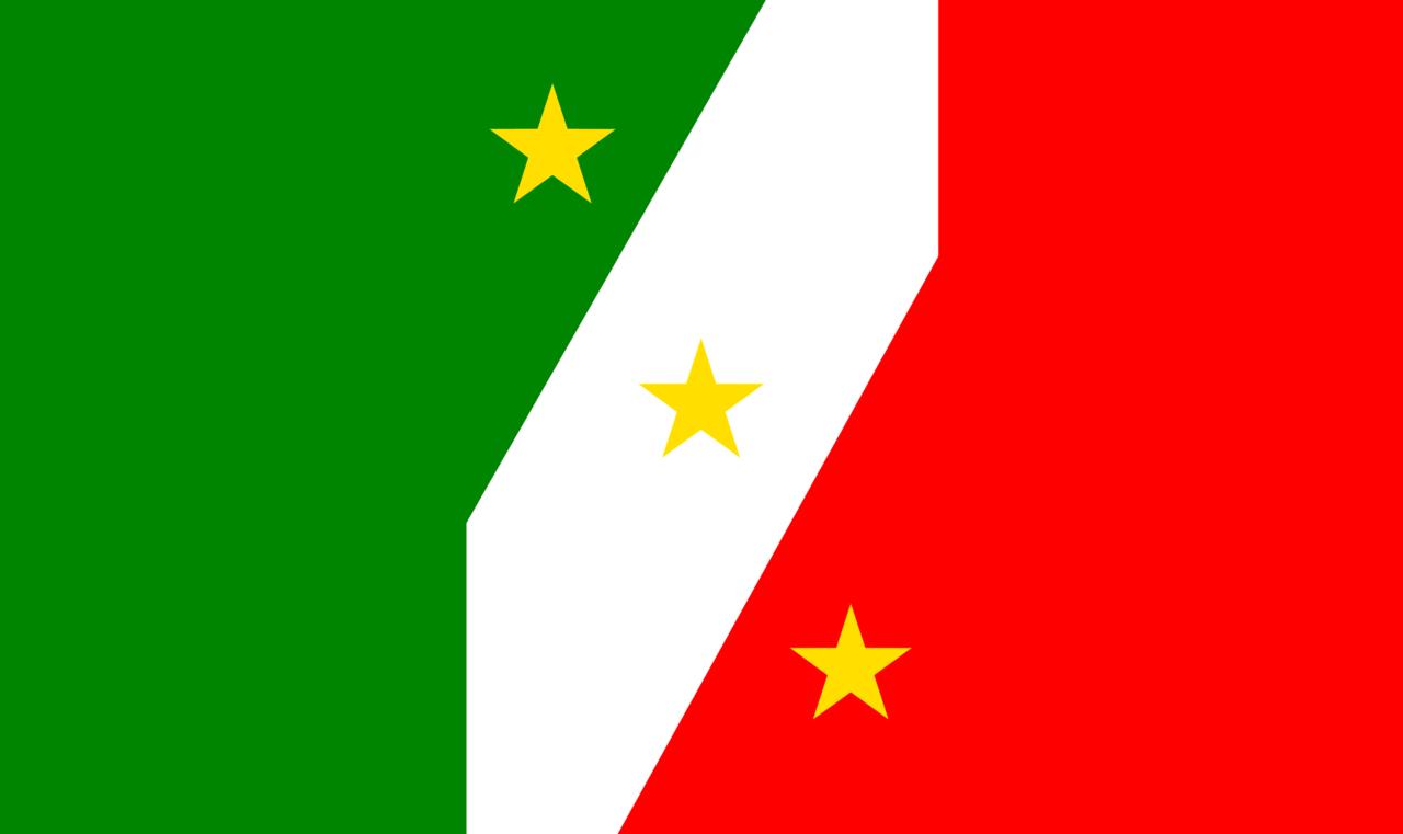 File Bandera De Las Tres Garantias Combinacion Tricolor