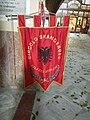 Bandiera del Circolo Skanderbeg Palazzo Adriano - Chiesa Madre.jpg