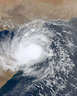 2010 North Indian Ocean cyclone season - Image: Bandu 21 May 2010