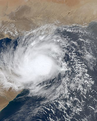 2010 North Indian Ocean cyclone season - Image: Bandu 21 May 2010