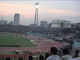 Mashrafe Mortaza - Bangabandhu National Stadium in Dhaka, where Mortaza made his Test debut on 8 November 2001.
