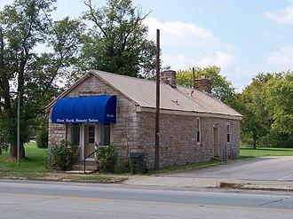 National Register of Historic Places listings in Bullitt County, Kentucky - Image: Bank of the Commonwealth, Shepherdsville, KY 1