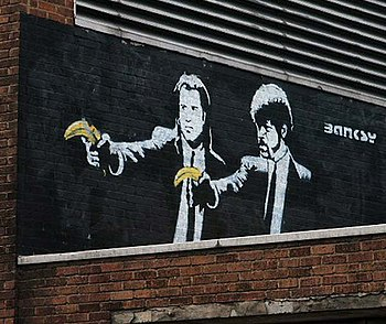 Banksy-graffiti-street-art-pulp-fiction (7003771177).jpg