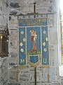 Banner within St John the Baptist, Ditton Priors - geograph.org.uk - 1447222.jpg