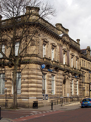 Scott & Bailey - A former Barclays branch in Bury served as the police station exterior in the first three series