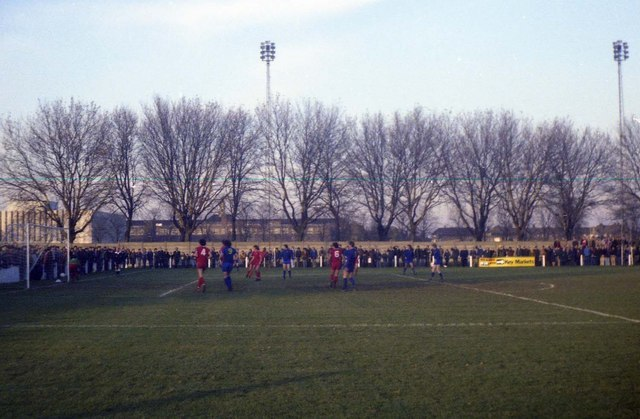 Barking Football Club, Mayesbrook Park - geograph.org.uk - 1224023