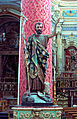 Baroque church St Peter San Pietro Modica Sicily Sicilia Italy sulpture with lamb.jpg