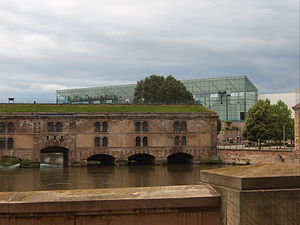 Strasbourg Museum of Modern and Contemporary Art - Barrage Vauban and MAMCS