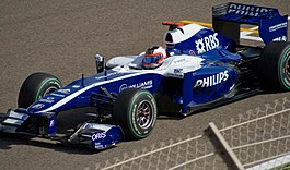 Rubens Barrichello in de FW32