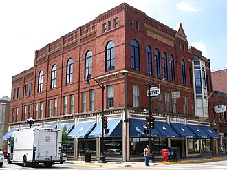 National Register of Historic Places listings in La Crosse County, Wisconsin - Image: Barron bldg 1891