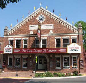 Culture of Virginia - The Barter Theatre in Abingdon, Virginia, opened in 1933.
