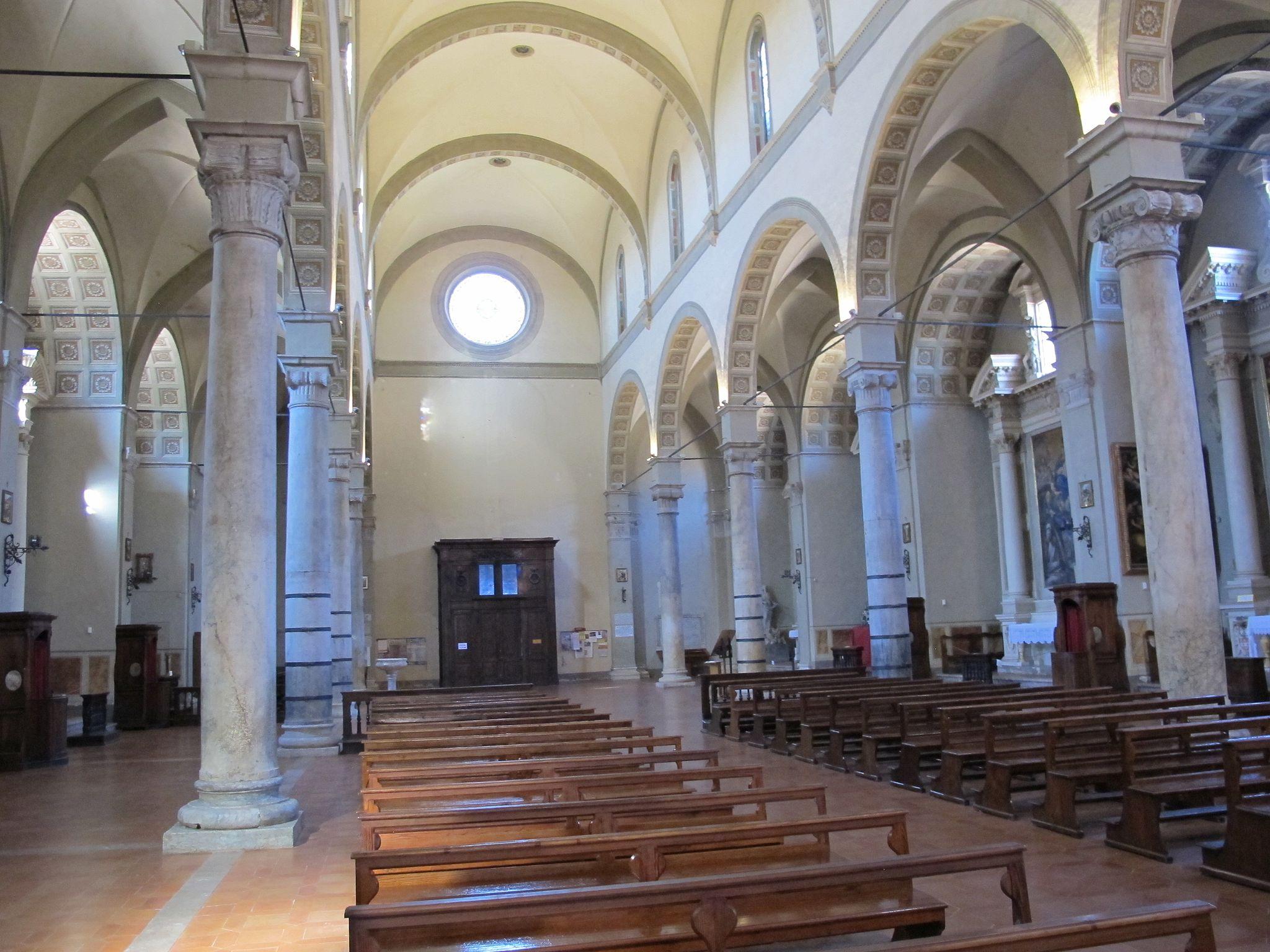 Basilica San Clemente in Santa Maria dei Servi, interno