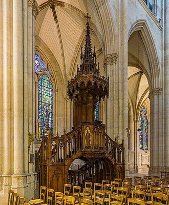 Sainte-Clotilde, Paris - Image: Basilica of Saint Clotilde Pulpit, Paris, France Diliff