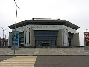 PBC Lokomotiv Kuban - Lokomotiv-Kuban have played at the 7,500 capacity Basket-Hall Krasnodar since 2011
