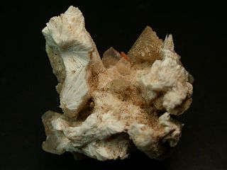 Bassanite water-containing calcium sulphate which occurs as a natural mineral or so-called artificially burnt gypsum