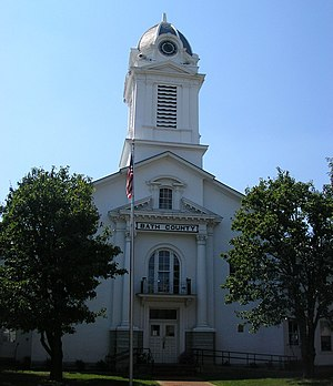 Bath County Courthouse in Owingsville