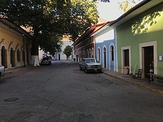 Batopilas, Chihuahua - Quaint street in downtown Batopilas
