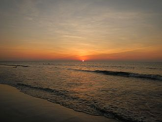 Bauang - Bauang sunset