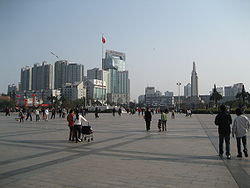 Bayi Square in Nanchang