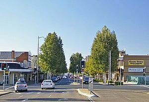 Wagga Wagga - Looking down Baylis Street