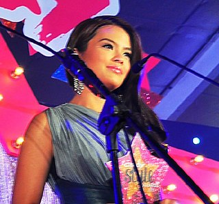 Bea Binene Filipino actress, television host and news anchor
