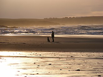 Eoropie - Image: Beach at Eoropie, Lewis