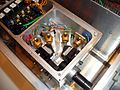 Beamsplitter and Photodetectors at the core of the luggable quantum crypto unit of the QAP project - FET09 Prague.jpg